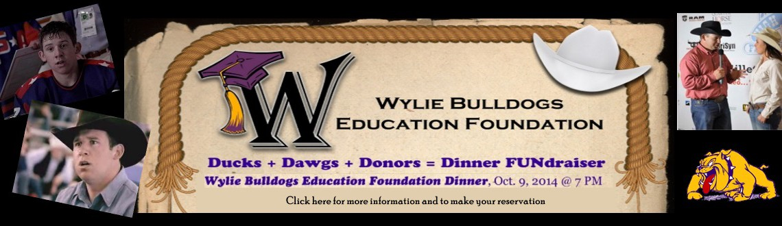 "2014 ""We Are Wylie"" Dinner Reservation Form"